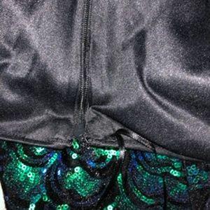 H&M Skirts - H & M Green Sequin Mini Skirt